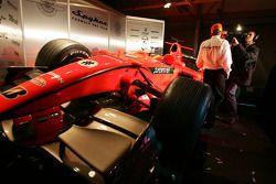 Spyker-Ferrari F8-VII: Heckflügel