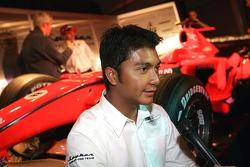 Fairuz Fauzy, Spyker-Ferrari