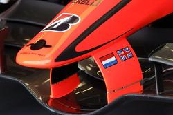 Detalle del Spyker-Ferrari F8-VII 2007