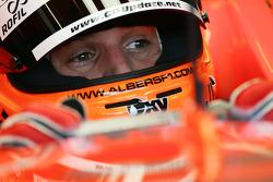 Christijan Albers en el Spyker-Ferrari F8-VII 2007