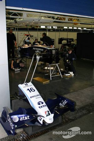Williams F1 Team garajı