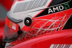 Le casque de Kimi Räikkönen