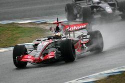 Pedro de la Rosa ve Marco Andretti