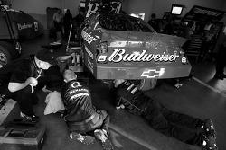 Bud Chevy crew members at work