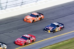 Dale Earnhardt Jr., Brian Vickers and Tony Stewart