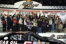 Bobby Gerhart celebrates
