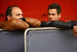 Teamchef Colin Kolles, Spyker F1 Team, mit Adrian Sutil