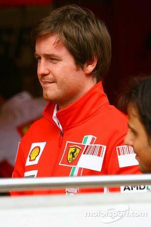Rob Smedly, Ferrari-Renningenieur