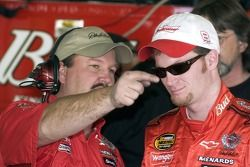 Dale Earnhardt Jr. and Tony Eury Jr.