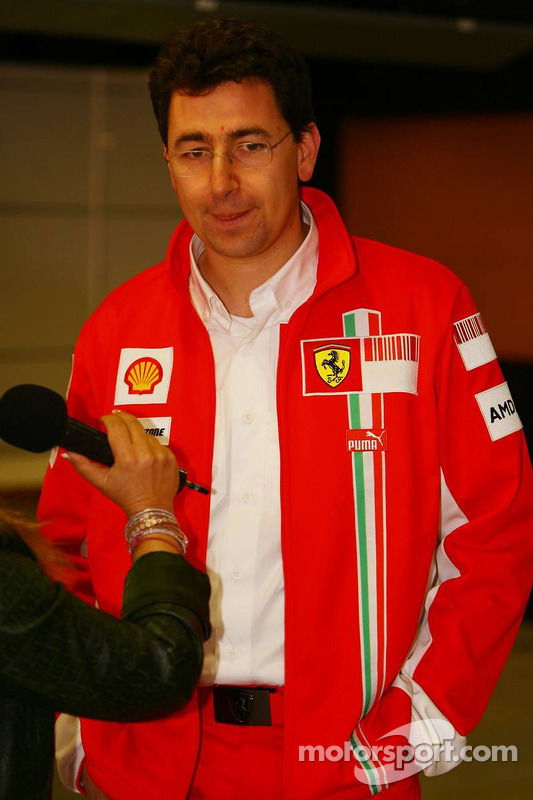 Маттіа Бінотто, Scuderia Ferrari, голова інженерів на треку