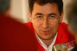 Инженер Scuderia Ferrari Маттиа Бинотто
