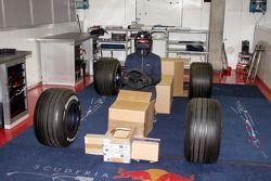 Invitation picture for the Scuderia Toro Rosso Launch 2007
