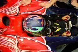 Vitantonio Liuzzi in the new STR2
