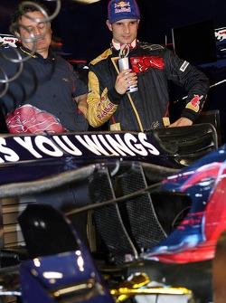 Vitantonio Liuzzi with the new STR2