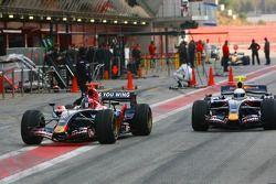 Vitantonio Liuzzi ve Mark Webber