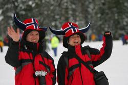 Aficionados noruegos