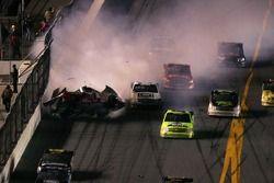 Chase Miller crashes