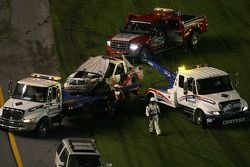 Emergency crew to the rescue after the crash of Chase Miller