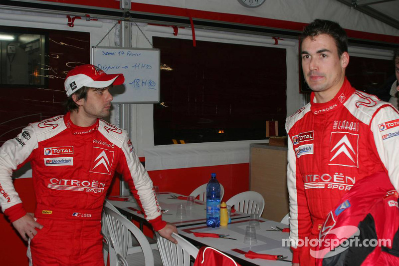Sébastien Loeb and Daniel Sordo