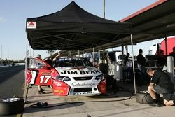 Dick Johnson Racing pit box