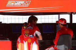 Felipe Massa e Rob Smedly