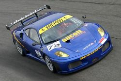 #72 JMB Racing Ferrari 430: Newey, Aucott