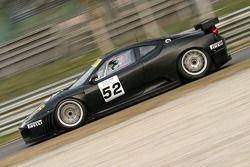 #52 Team Edil Cris Ferrari 430: Ruberti, Giammaria, Cressoni