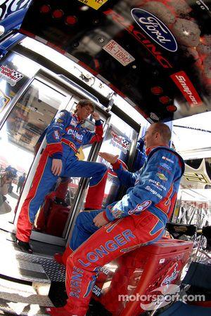 Jon Wood and Marcos Ambrose