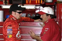 Dale Earnhardt Jr. et Tony Eury Jr.