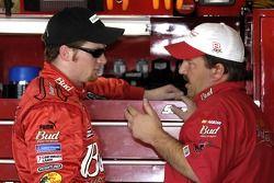 Dale Earnhardt Jr. et Tony Eury Jr.