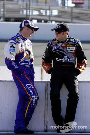 Jamie McMurray et Matt Kenseth
