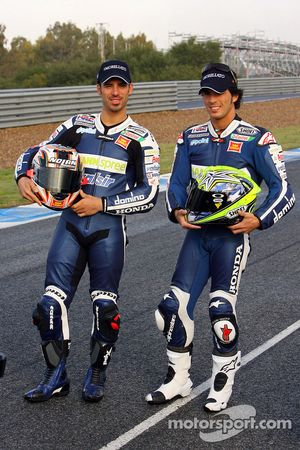 Тони Элиас и Марко Меландри, Team Gresini