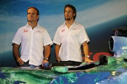 Honda F1 Racing RA107, Rubens Barrichello ve Jenson Button