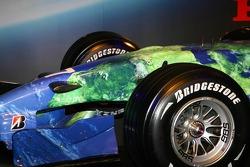 Detail of the Honda F1 Racing RA107