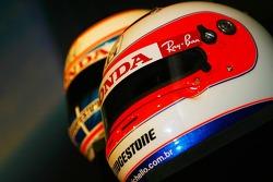 Helm von Rubens Barrichello