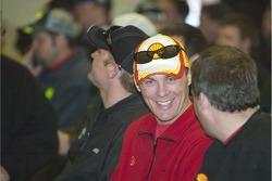 Drivers meeting: Kevin Harvick
