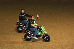 Kawasaki Racing Team : Randy de Puniet et Olivier Jacque