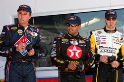 Raybestos Rookie RC Challenge 2007: rookie of the year contenders David Reutimann, Juan Pablo Montoya and Paul Menard