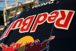 Detail of the Red Bull Toyota