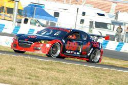 #08 Goldin Brothers Racing Mazda RX-8: Steve Goldin, Keith Goldin, John Finger, Ron Zitza