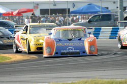 #47 TruSpeed Motorsports Porsche Riley: Charles Morgan, Rob Morgan, Timo Bernhard, BJ Zacharias, #07 Banner Racing Pontiac GXP.R: Paul Edwards, Kelly Collins, Andy Pilgrim