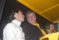 Oriol Servia and Kevin Doran