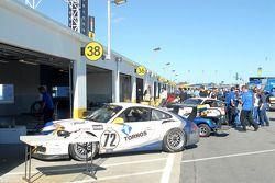 GT garages begin quieting down post-race