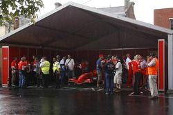 Ferrari F1 garajı