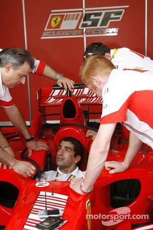 Marc Gene, Test Pilotu, Scuderia Ferrari, 248