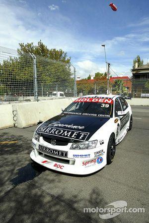 La course de Coulthard se termine