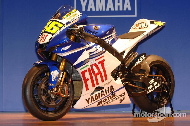 Fiat Yamaha Team YZR-M1 800cc