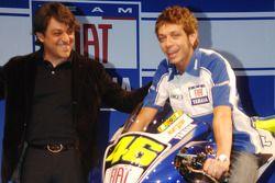 Luca de Meo et Valentino Rossi