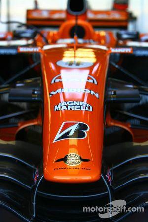 Spyker F1 Team, F8-VII, ön kanat / Nose