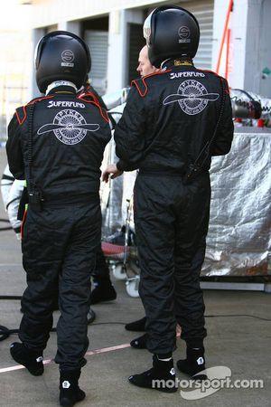 Spyker F1 Team, pit ekibi